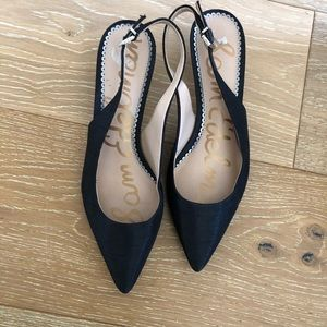 Sam Edelman /Ladies/Black/Small Heel/Size 7